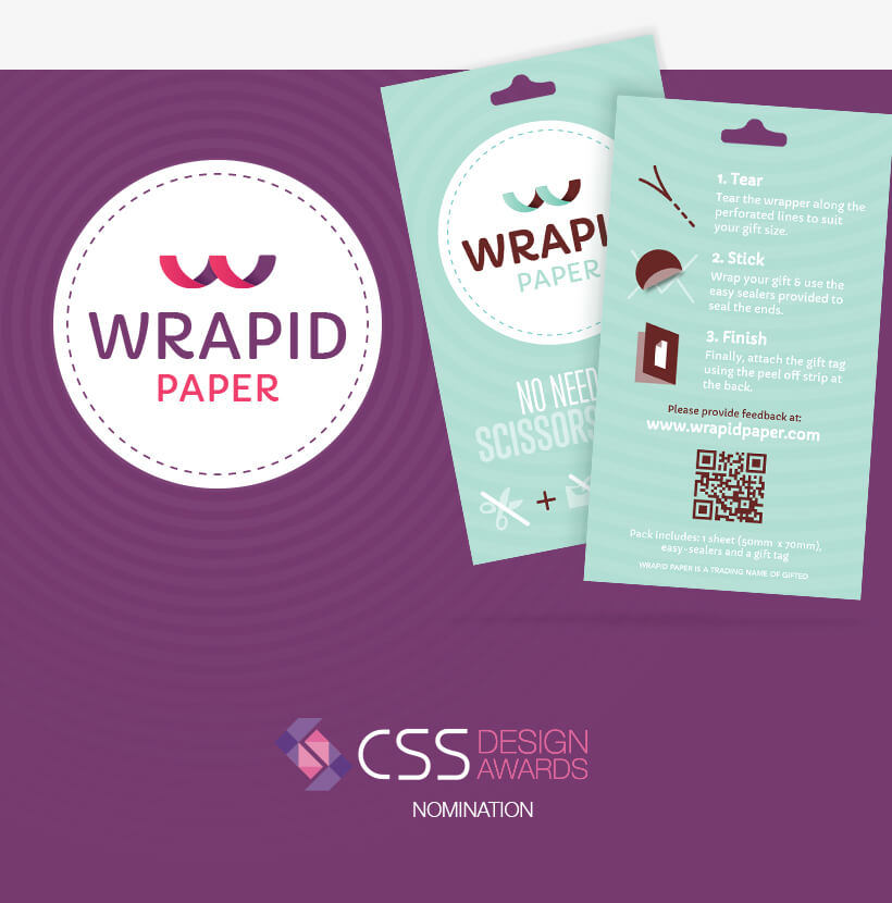 wrapid-paper-label-design